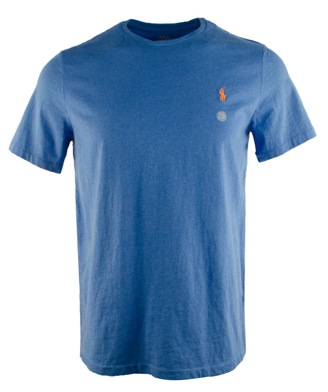 Polo ralph lauren men 39 s custom fit crewneck short sleeve t for Polo custom fit t shirts