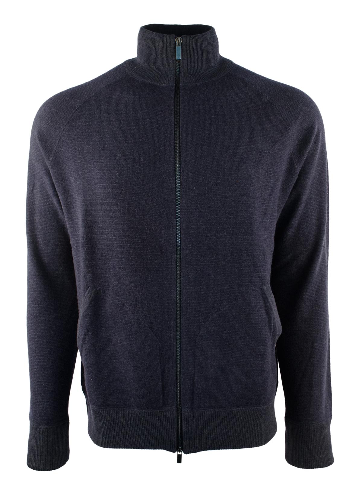 Merino Wool Full Zip Sweater