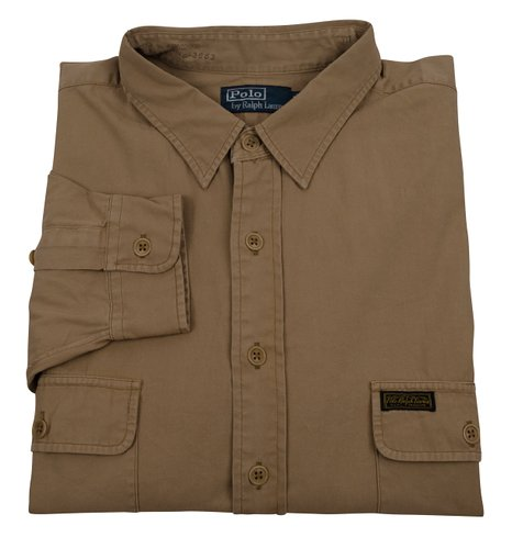 Polo ralph lauren men 39 s big and tall classic fit flap for Big and tall polo shirts with pockets