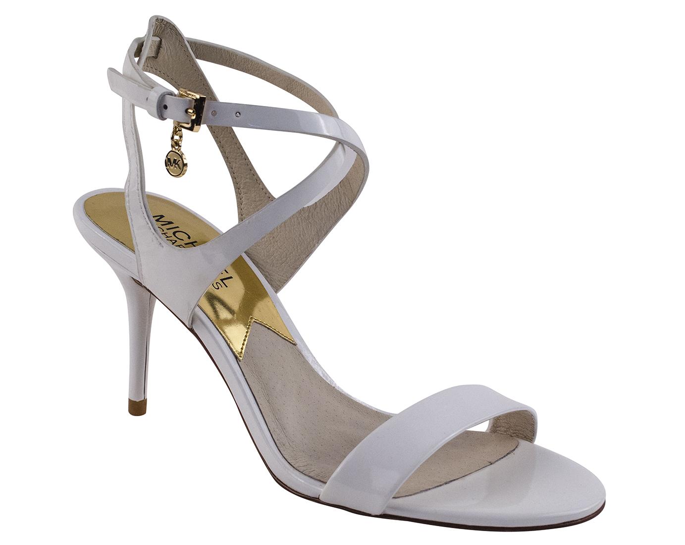 Elegant Michael Michael Kors Women39s Sofia Flat Sandal Sandals In Gold  Lyst