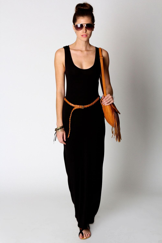 Racerback maxi dress ebay