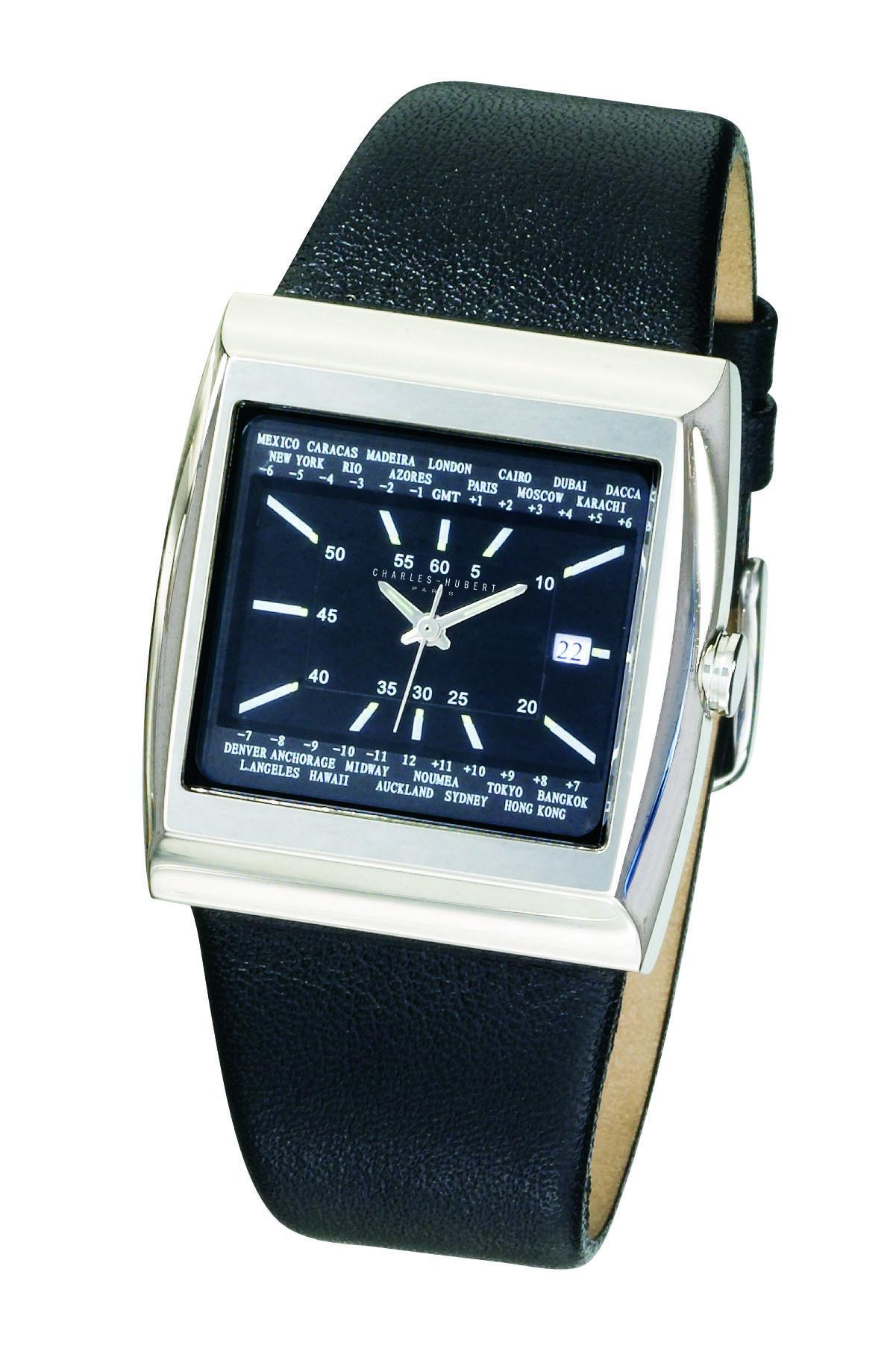 Charles-Hubert-Paris-3771-B-Classic-Collection-Men-Watch