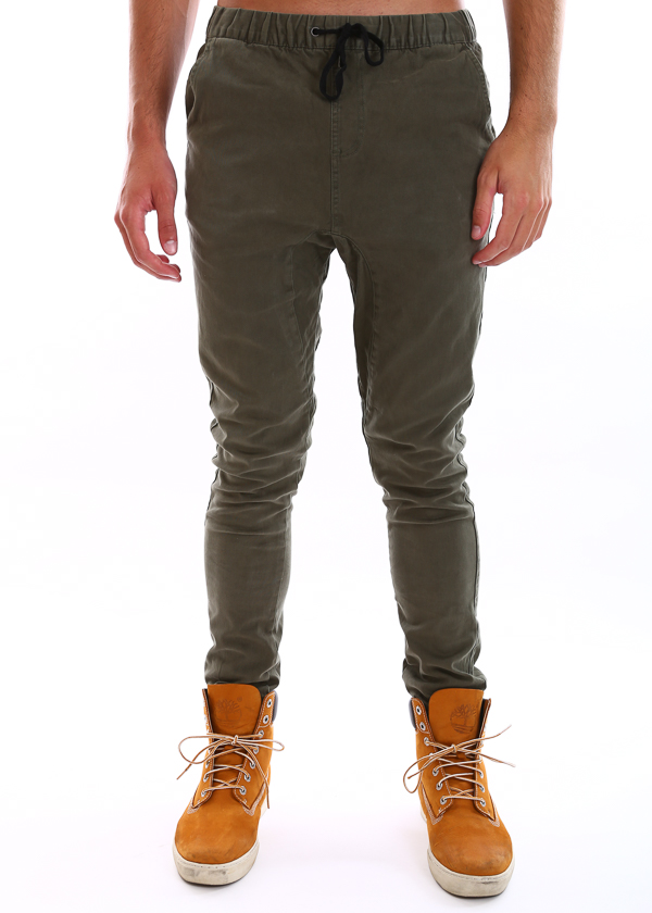 Cargo Pants Elastic Banded ankle cuffs, Cotton Drill Work Wear Slim Looking Tapered Leg. Slim designed with banded ankle cuffs, contoured shaped legs, giving you .