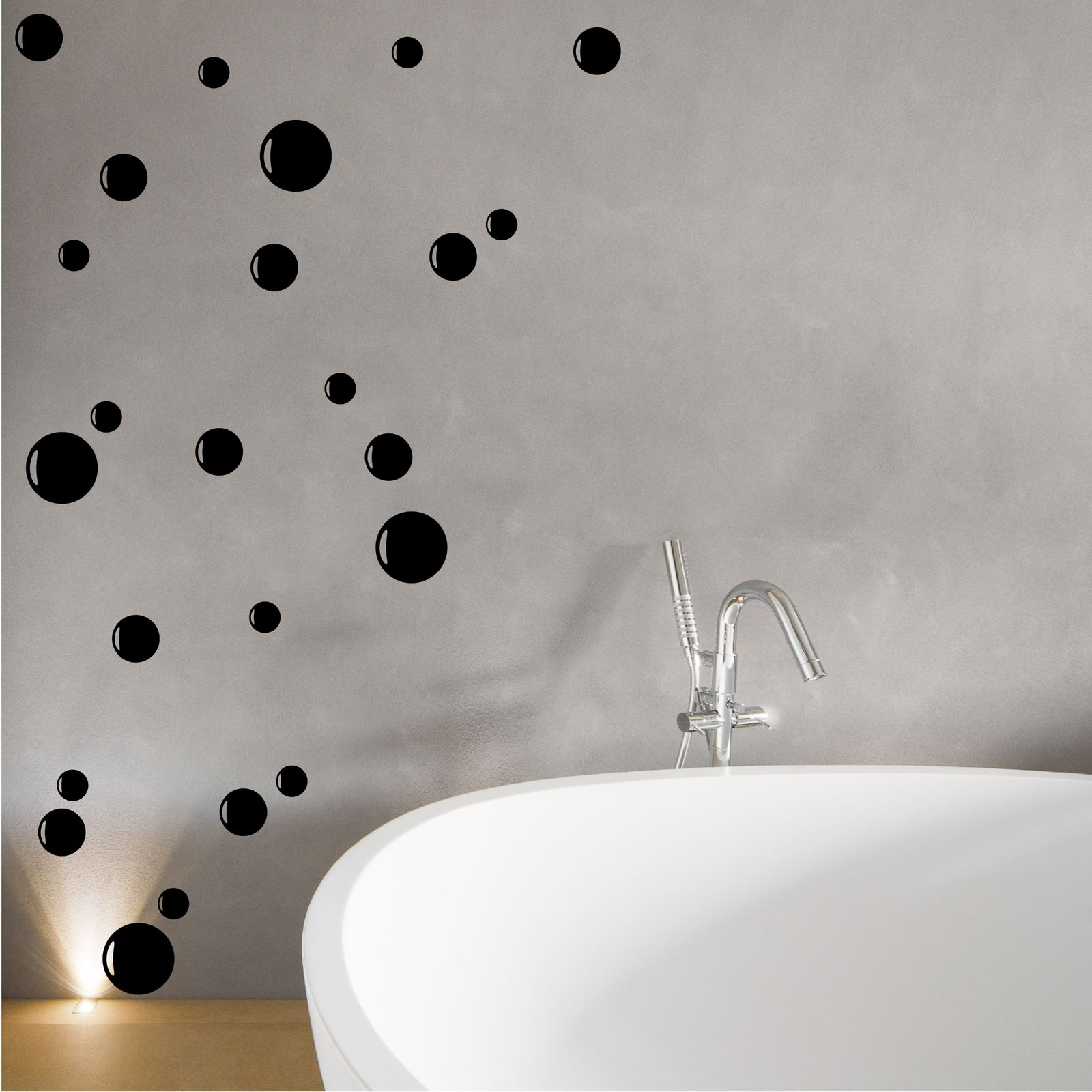 24 BUBBLE WALL STICKERS SAFTEY GLASS MANIFESTATION TILE SHOWER PANEL EN  SUITE. Bubble Wall Stickers   eBay