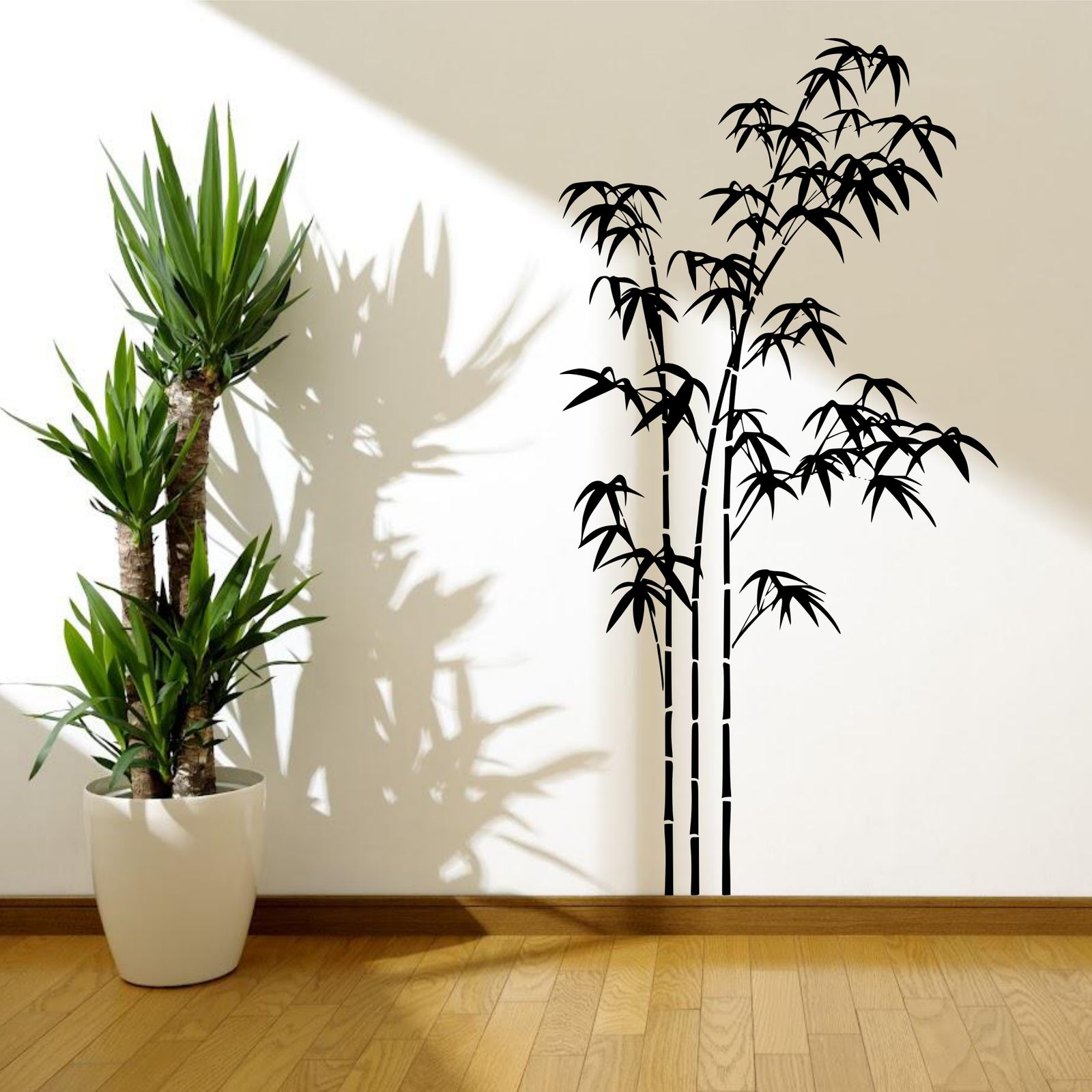 bamboo tree grass wild jungle wall sticker decal mural aliexpress com buy black wall decal dreamcatcher