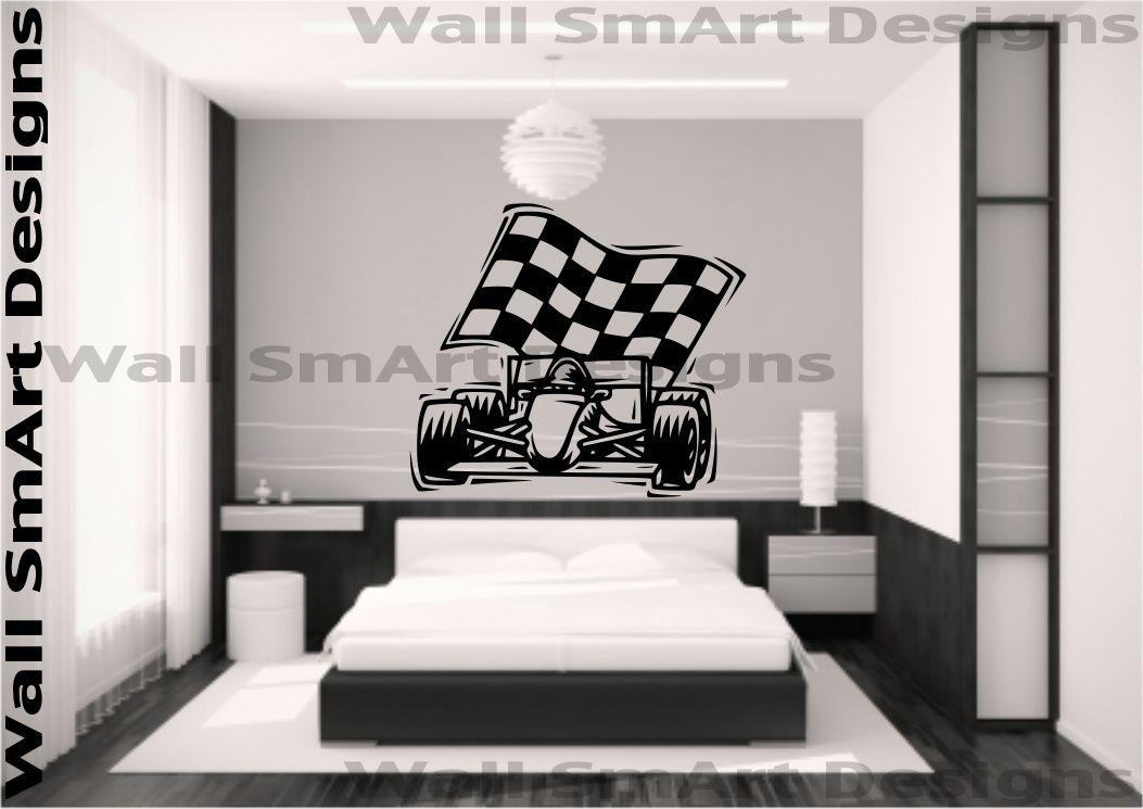 F1-Racing-Car-Racer-Vinyl-Wall-Sticker-Boys-Bedroom-Girls-Bedroom-Home-Decal