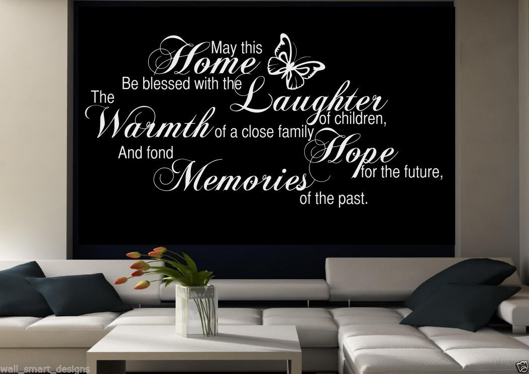 Family Memories Wall Art Sticker Room Lounge Quote Decal ...
