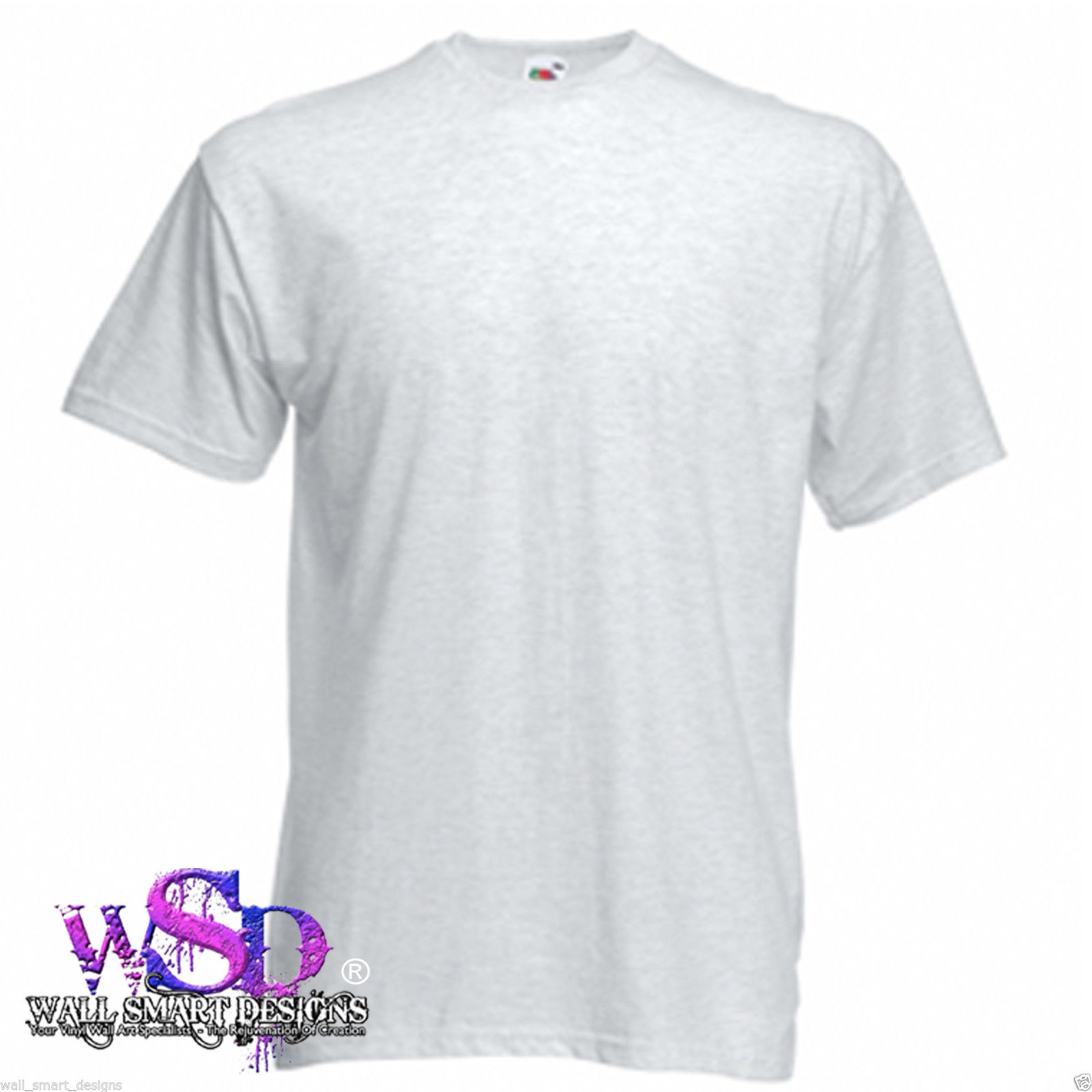 Fruit Of The Loom Mens Plain Blank Valueweight T Shirt Top S 5xl
