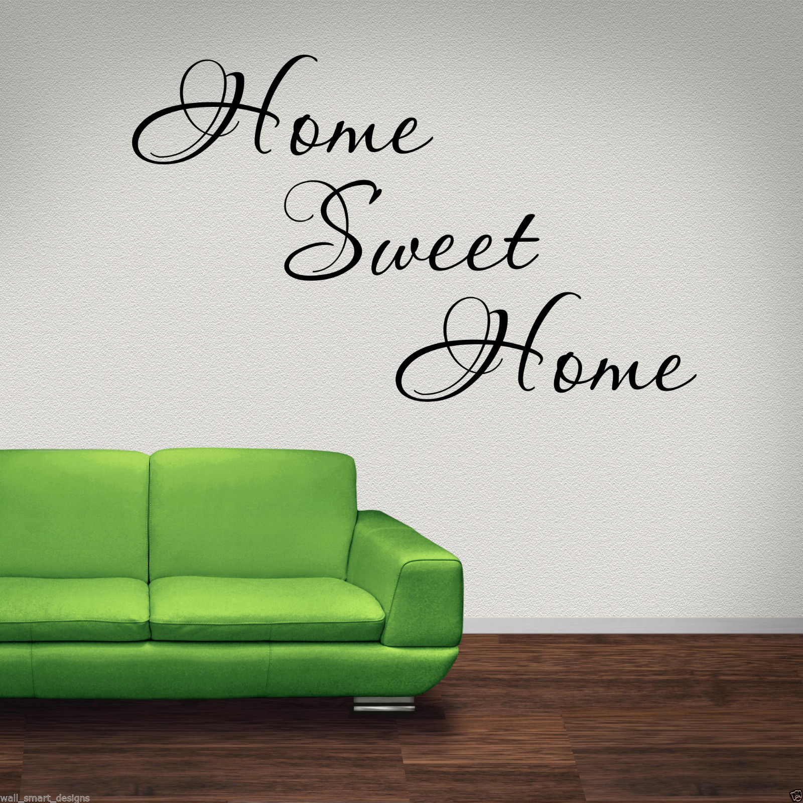 Home Sweet Home Wall Art home sweet home wall art sticker lounge hall quote decal mural