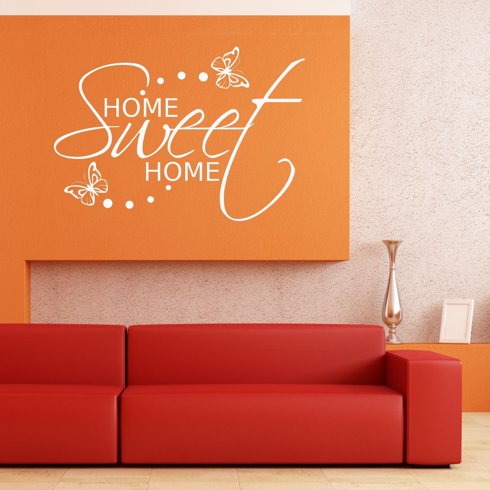 Home sweet home wall sticker art room gift decal mural Home sweet home wall decor