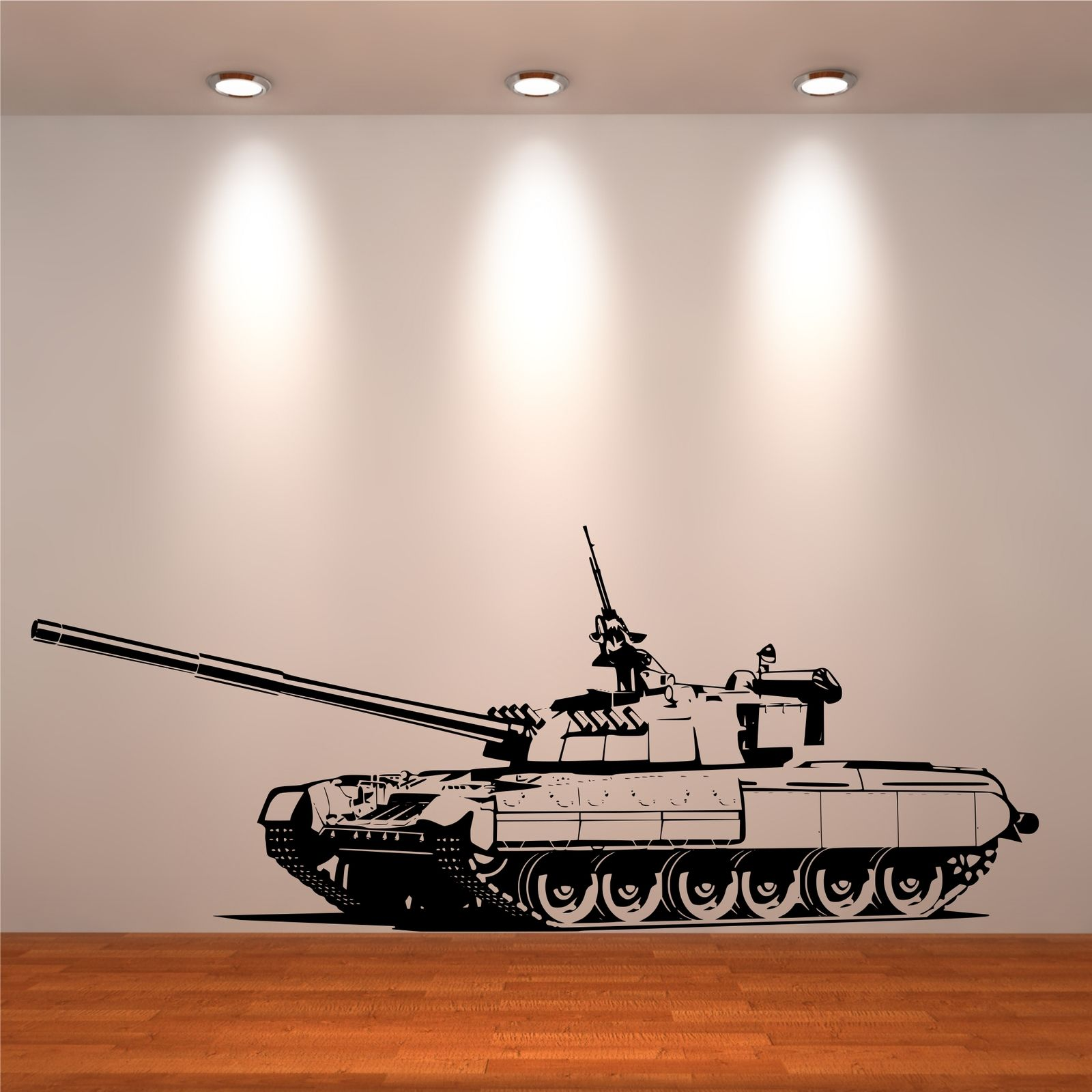 tank army boys bedroom wall art stickers decals murals
