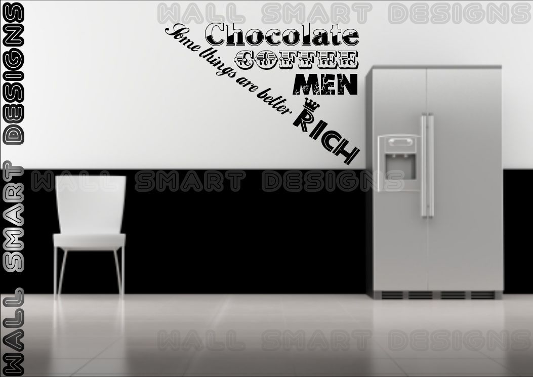 Wall sticker kitchen quote funny label decal mural - Funny kitchen wall decals ...