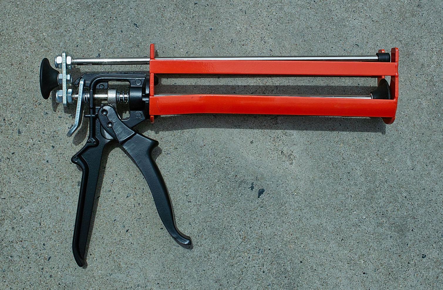 Heavy Duty Glass Glue : Caulking gun quot heavy duty cartridge glass glue adhesive