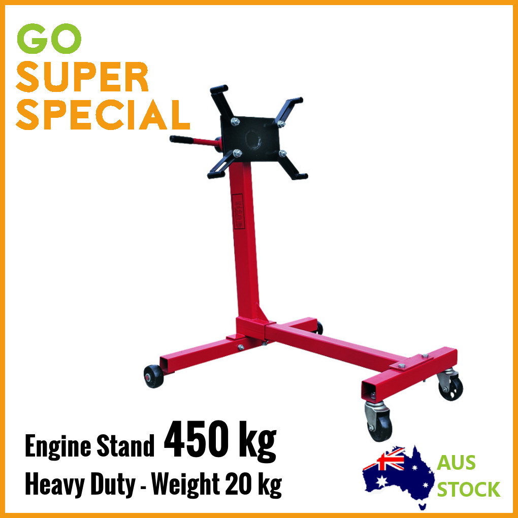 450kg-Engine-Stand-Heavy-Duty-Industrial-Workshop-Cars-Auto-Crane-Hoist-Motor