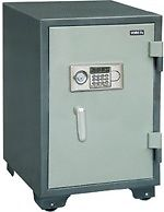 Fireproof Digital Steel Safe with key battery YB-600ALD