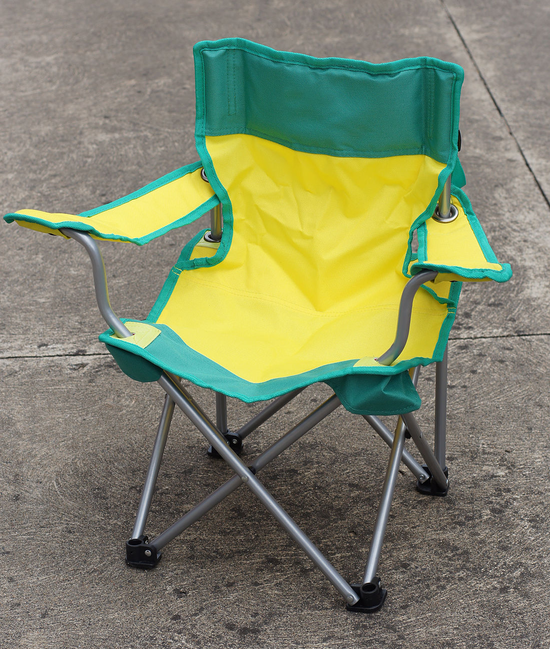 Kids Folding Chair with Arms Foldable Light Outdoor Camping Travel Children