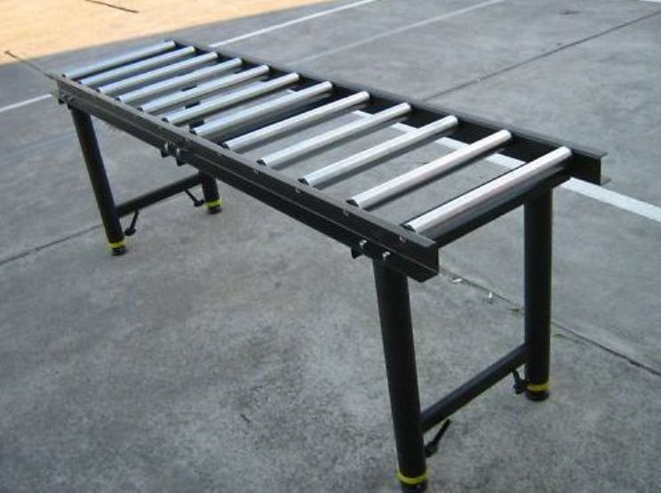 1 8m Roller Top Table 12 Roller Heavy Duty Work Support Conveyor Adjustable Leg Ebay