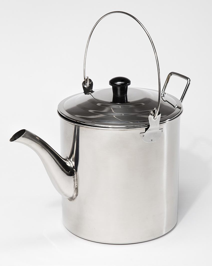 Stainless Steel Tea Kettle ~ Stainless steel teapot l billycan kettle water tea pot ebay