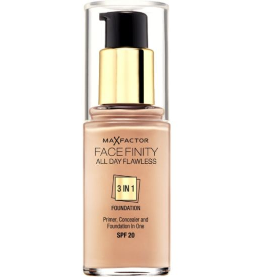 Max Factor Facefinity 3 in 1 Foundation  30ml