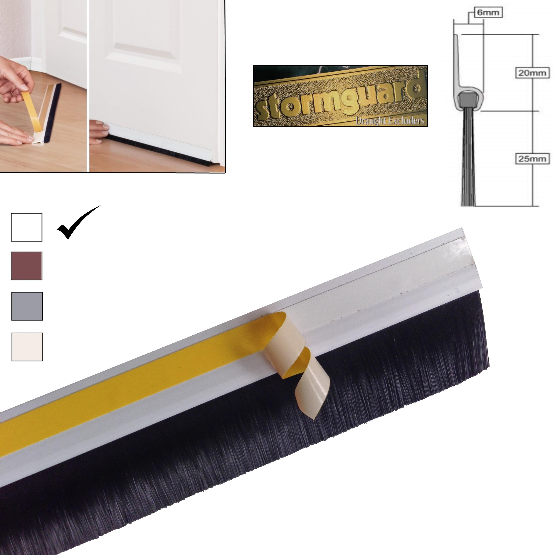 how to change strip on bottom of door