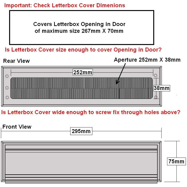 Stormguard-Premium-Letter-Box-Covers-Brush-Cover-&-  sc 1 st  eBay & Stormguard Premium Letter Box Covers - Brush Cover u0026 Flap Door ...