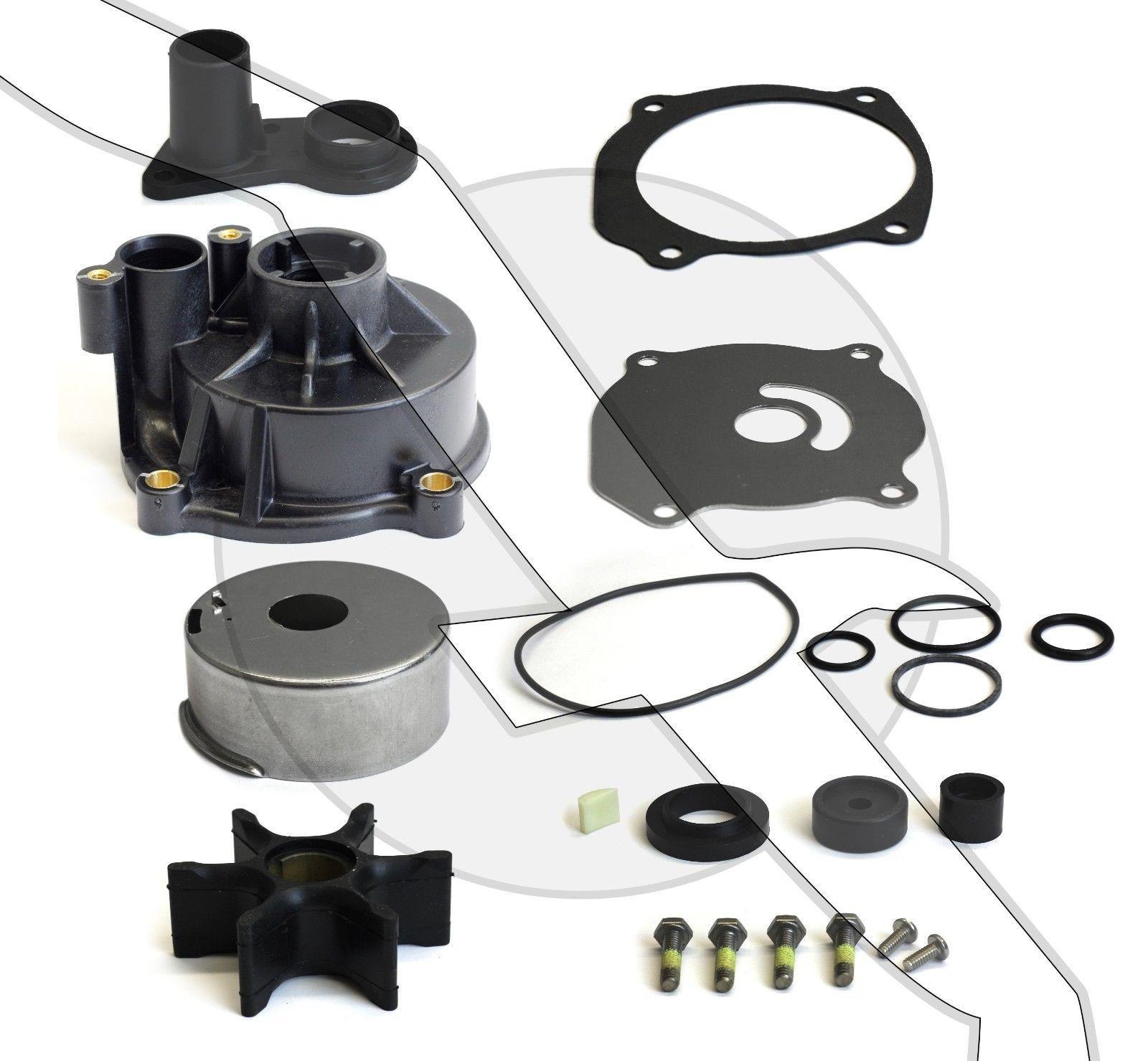 Water pump impeller repair rebuild kit for 85 300 hp for Winterizing yamaha 300 outboard