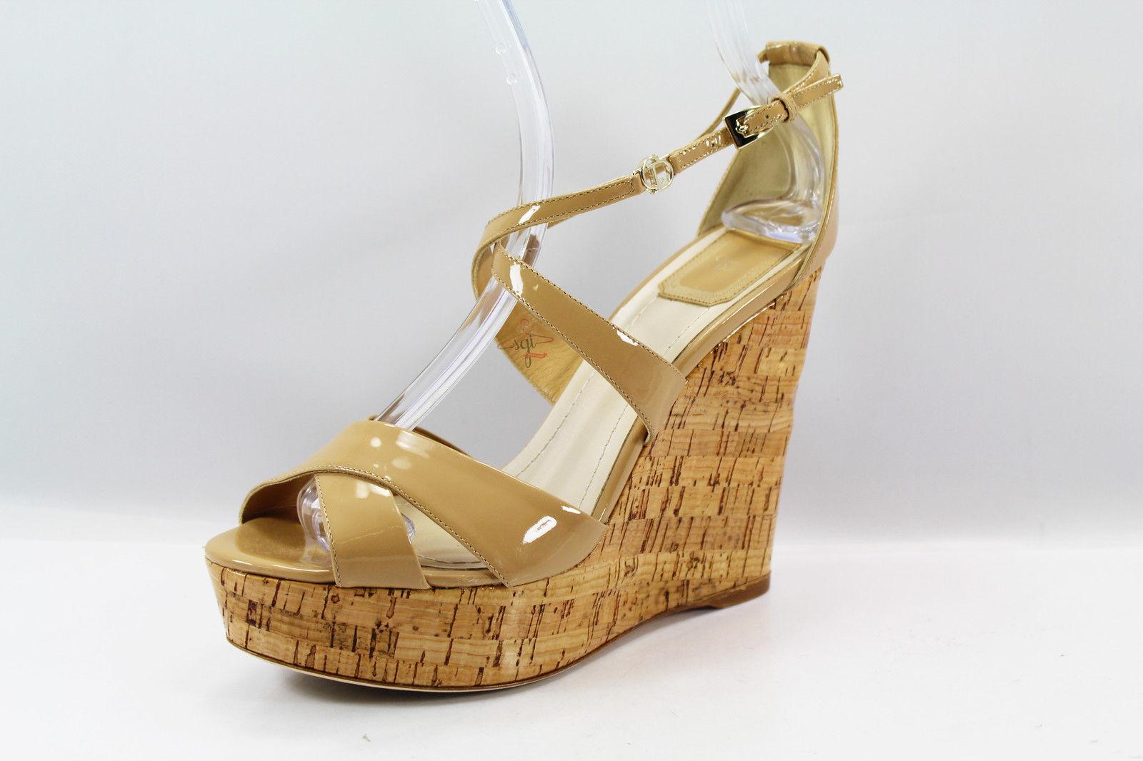 Good Authentic Christian Dior Size 40 EU (10 US) Women's shoes Beige Leather  -