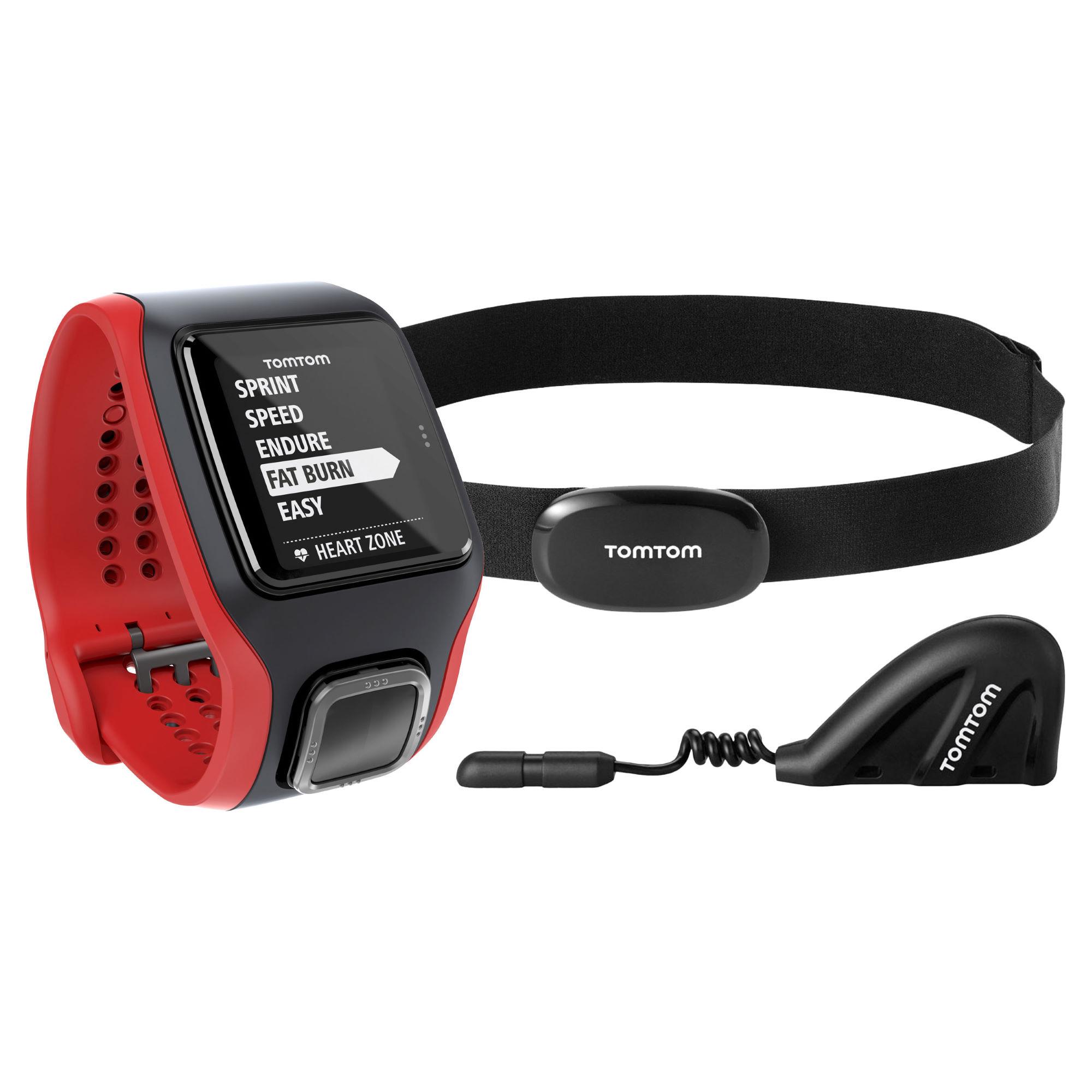 tomtom multisport cardio gps horloge