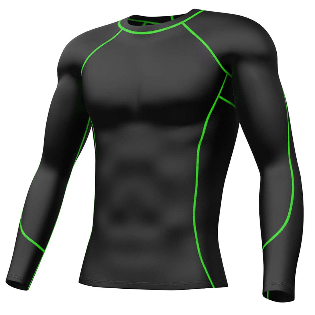 Mens Compression Shirt Long Pants Underwear Running Base