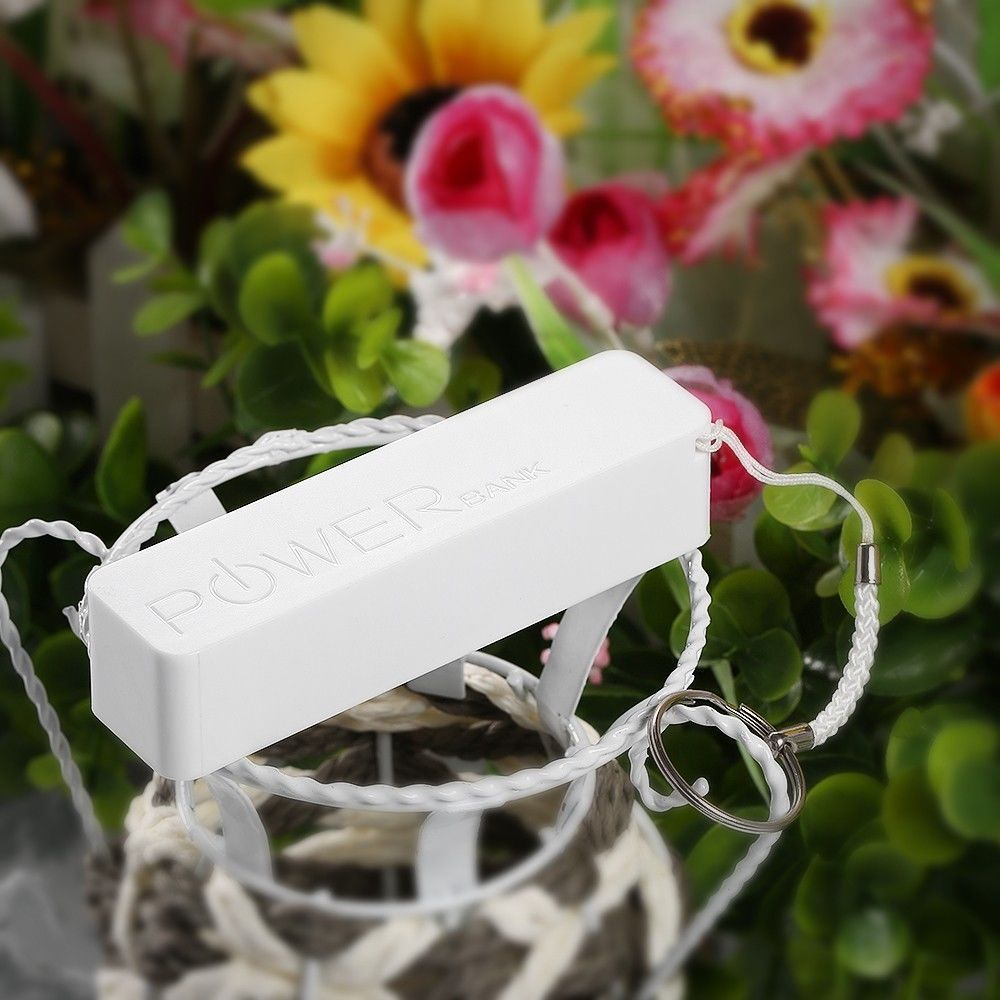 Universal Portable USB power bank 2600 backup battery charger cellphone
