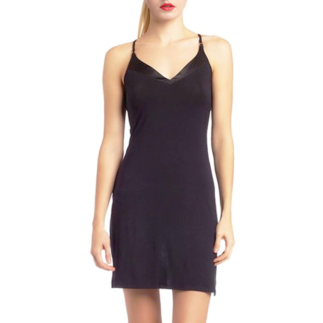 Womens Sleepwear V Neck Long Chemise Robe Evening Night ...