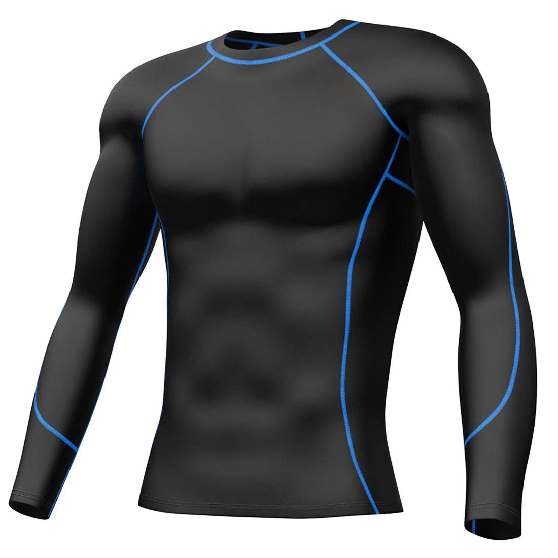 Premium Compression Pants Shirt Mens Athletic Apparel