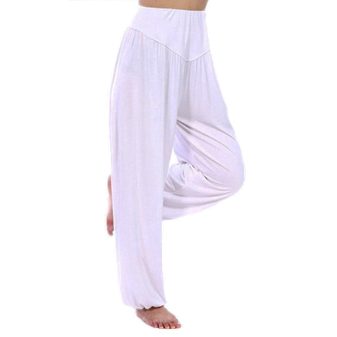Simple 2016 New Women Casual Harem Pants High Waist Dance Pants Dance Club