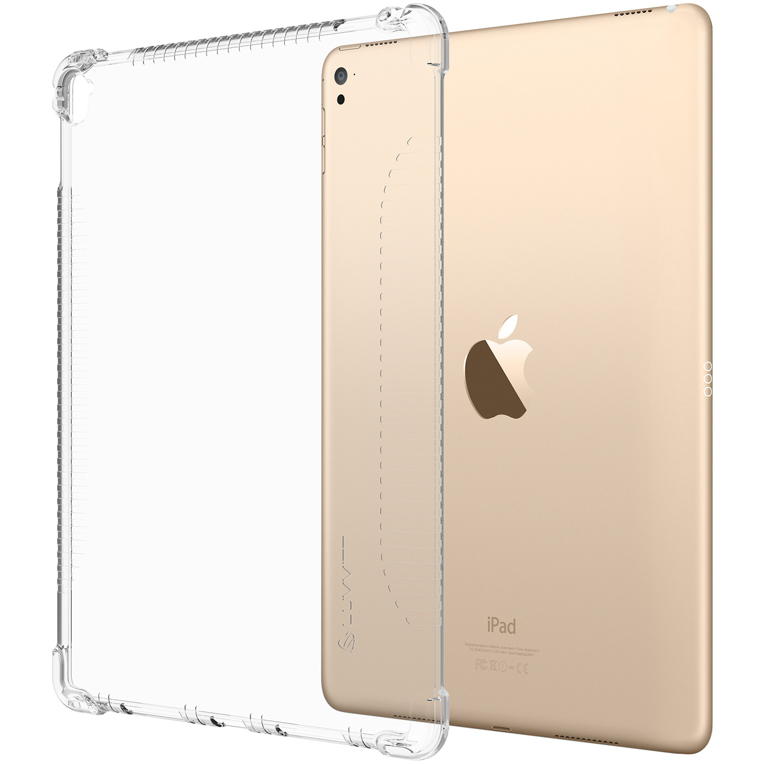 apple 9 7 ipad pro. luvvitt-clear-grip-case-for-apple-ipad-pro- apple 9 7 ipad pro