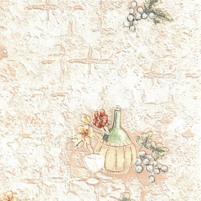 bhf 22221 ceramica vintage flaschen k che und badezimmer tapete nat rlich ebay. Black Bedroom Furniture Sets. Home Design Ideas