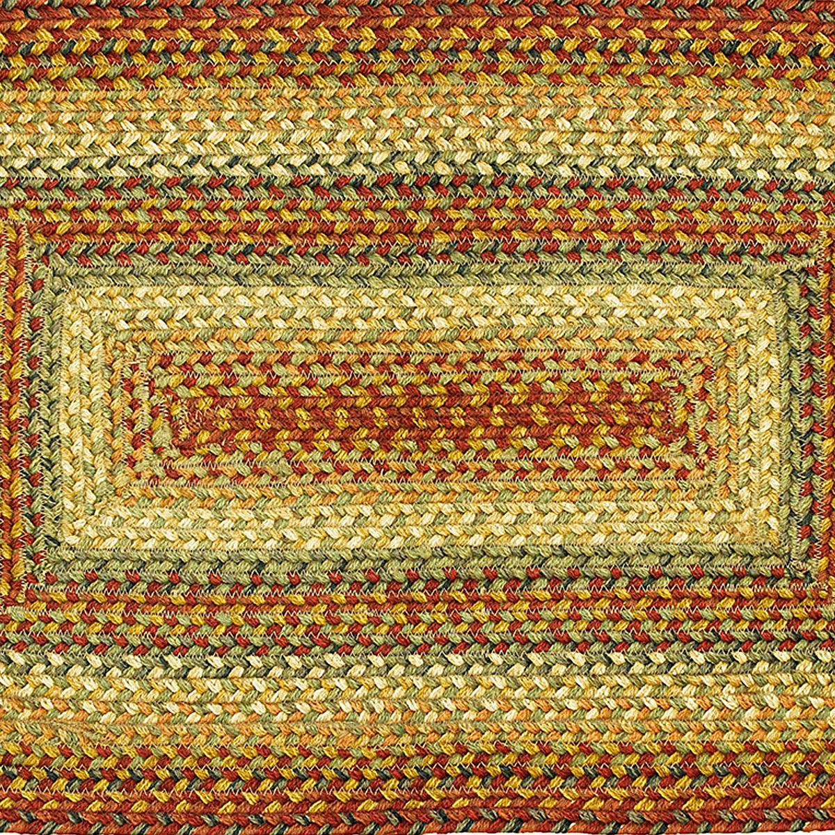 Washable Primitive Rugs: Primitive Jute Braided Area Rugs Oval Rectangle 20x30-8x10