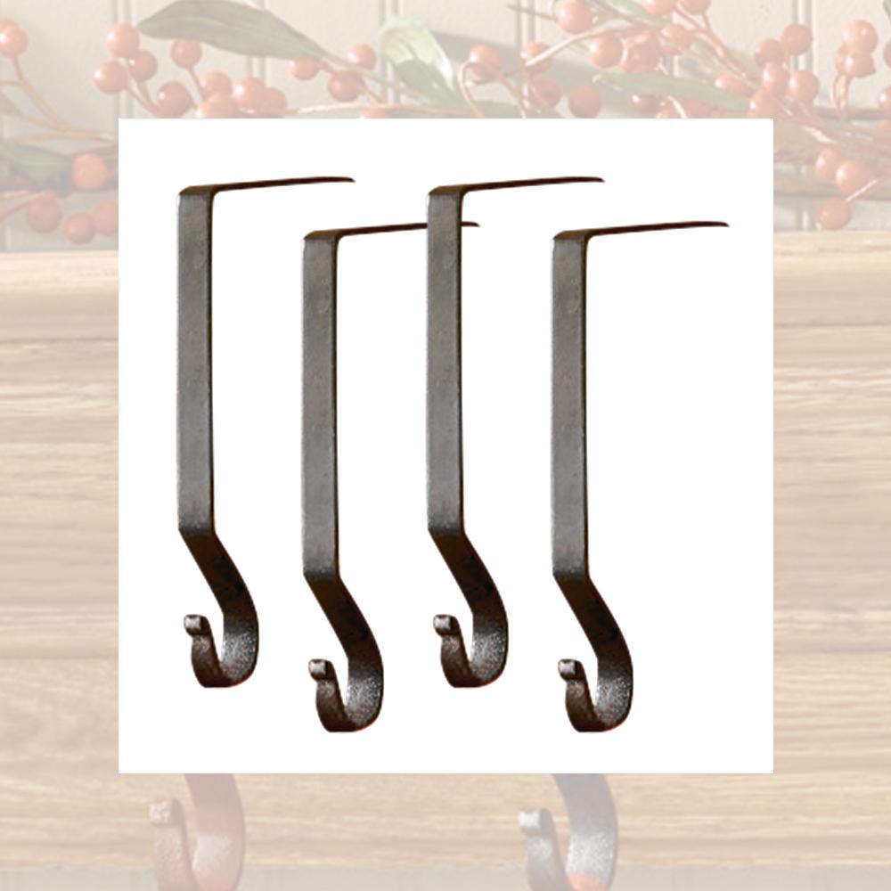 Iron stocking hangers vintage
