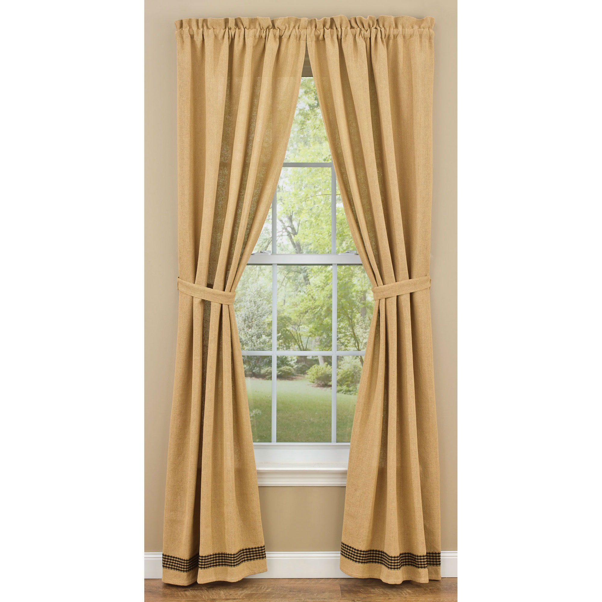 how to make unlined drapes