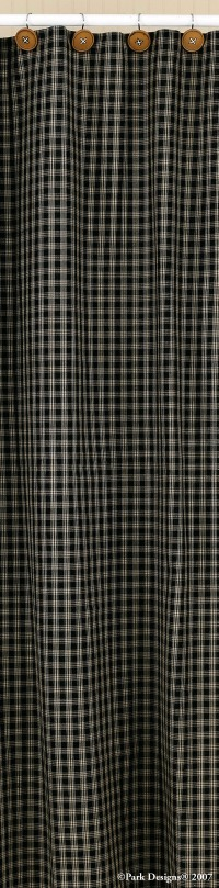 Curtains Ideas black cloth shower curtain : Sturbridge Plaid Cotton Shower Curtain 72x72 Wine Black Navy