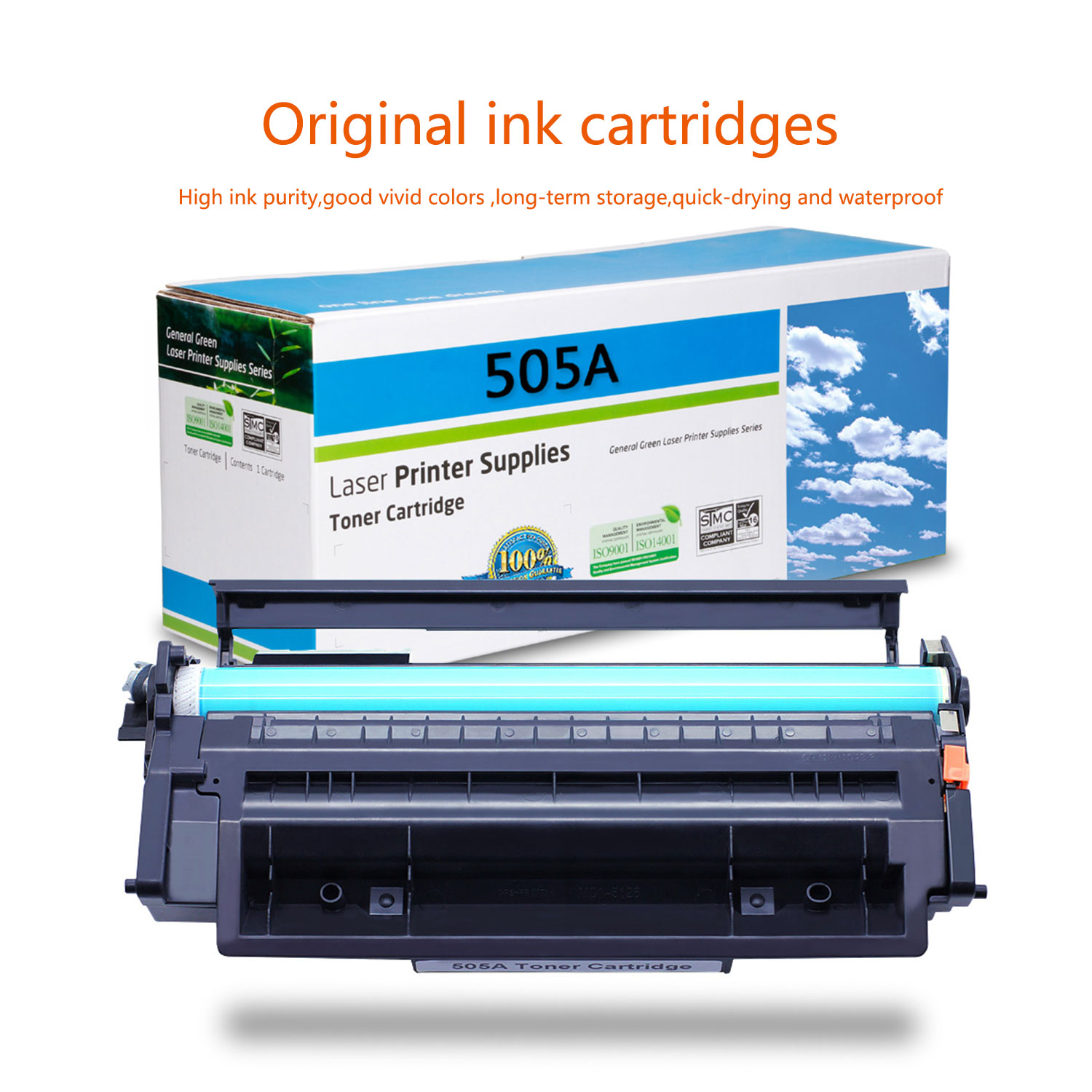 4PK CE505A 05A Laser Toner Cartridge Compatible For HP