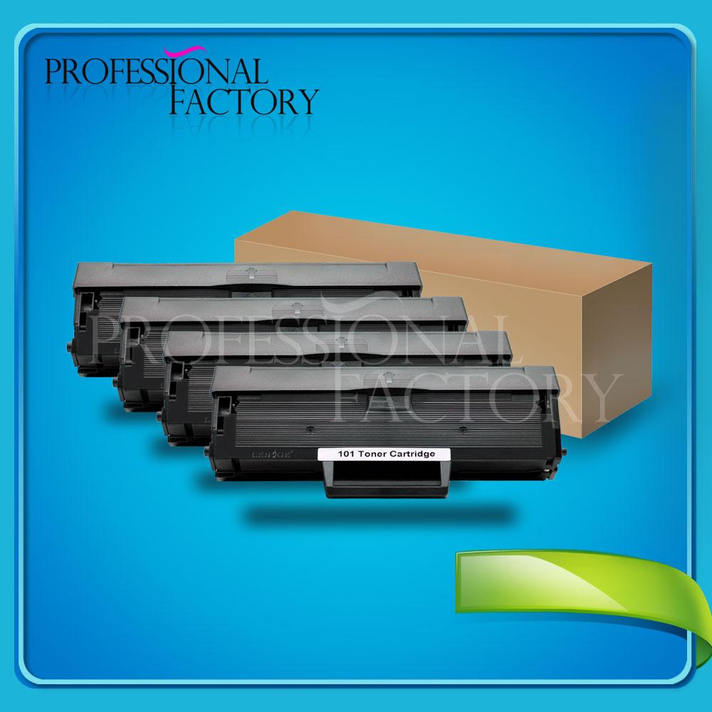 4 Pack Toner Cartridge F/ Samsung ML-2160 ML-2165 ML-2165W ...