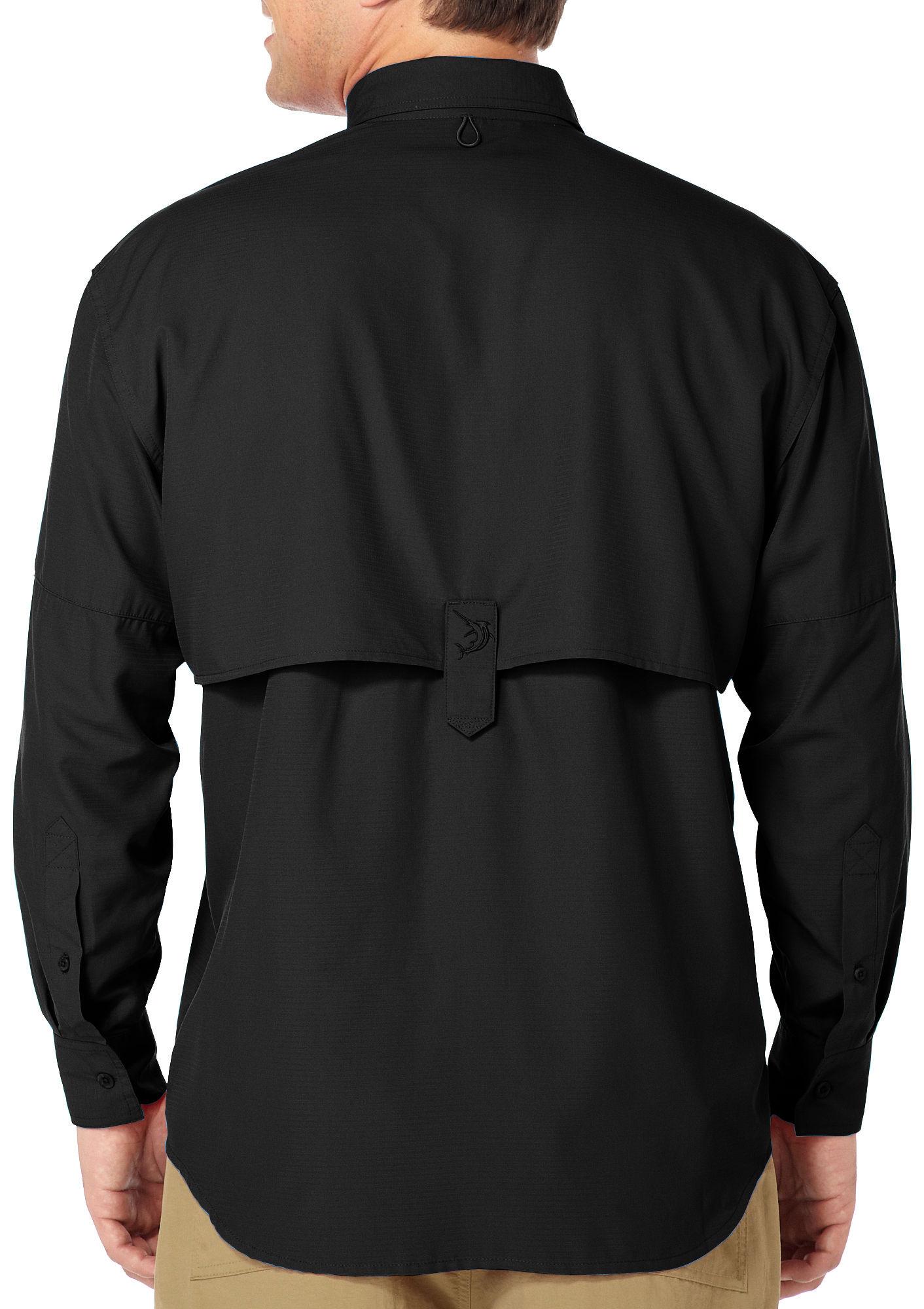 Reel legends mens long sleeve saltwater shirt ebay for Men s fishing apparel