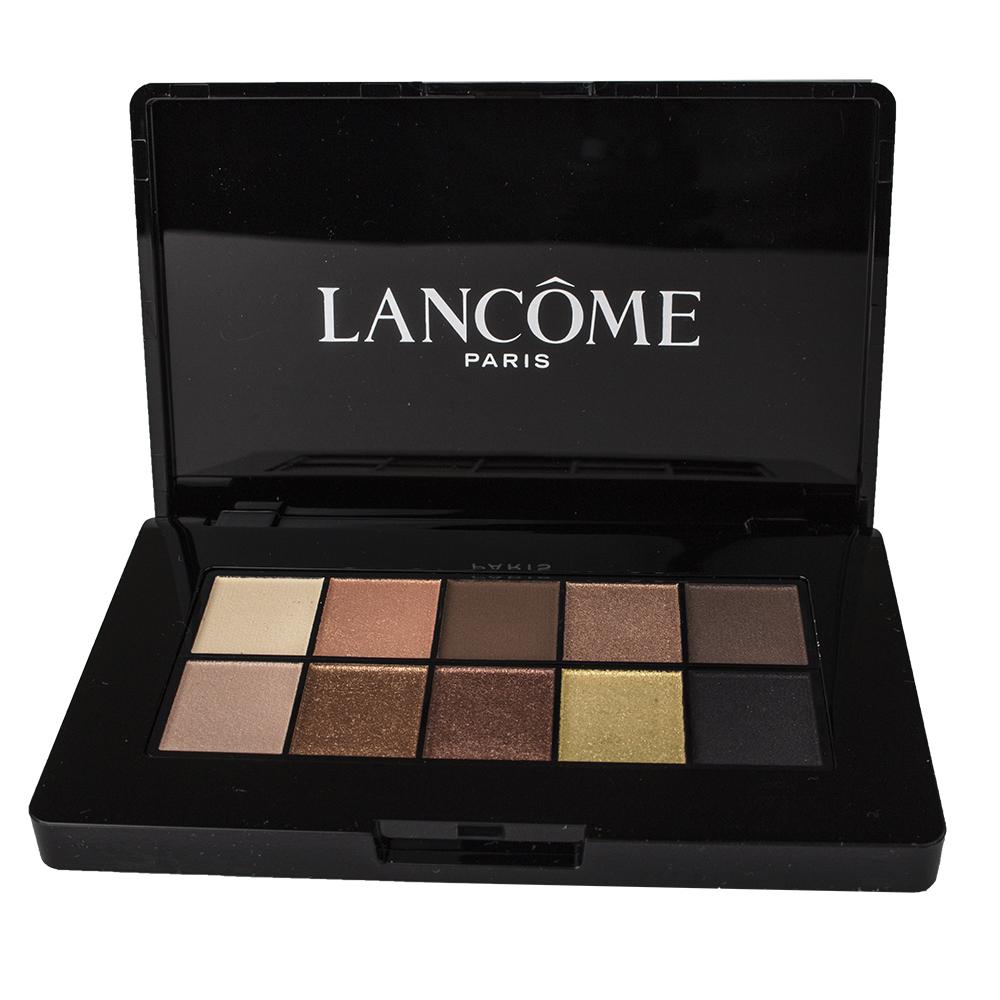 Lancome color design 10 colors eye shadow palette paris for Color design paris