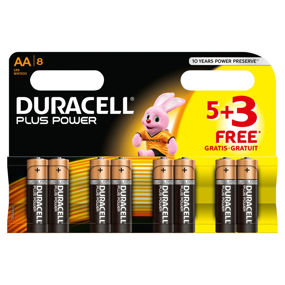 Coupons batteries duracell