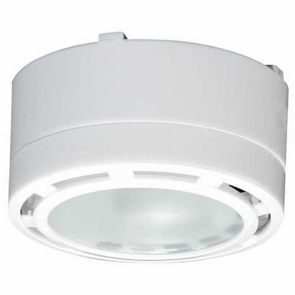 american lighting allvp20wh halogen under cabinet puck light white ebay. Black Bedroom Furniture Sets. Home Design Ideas