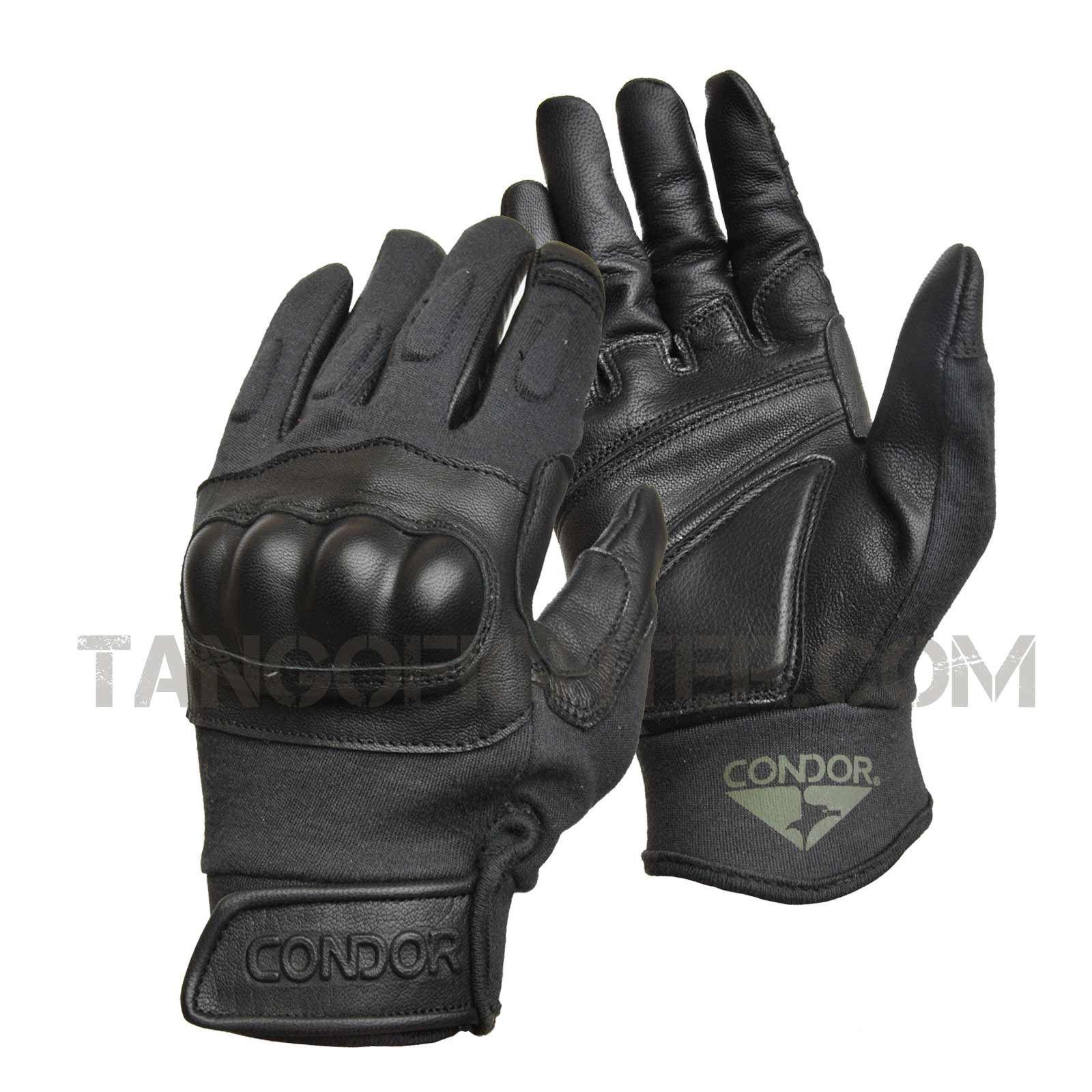 Xxl black leather gloves - Responsive Image
