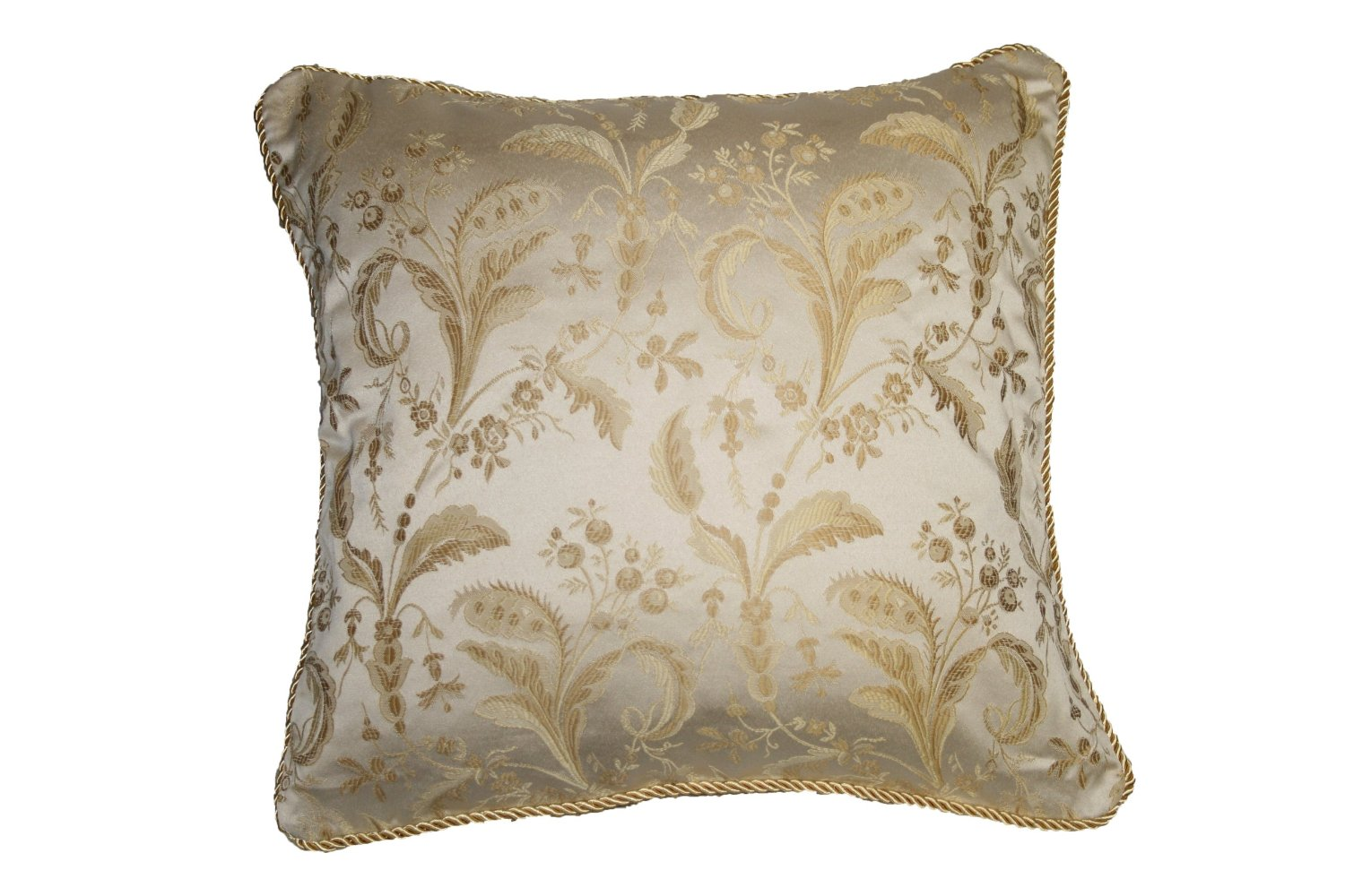 Luxury Decorative Bed Pillows : Luxury Damask Design Decorative Throw Pillow eBay