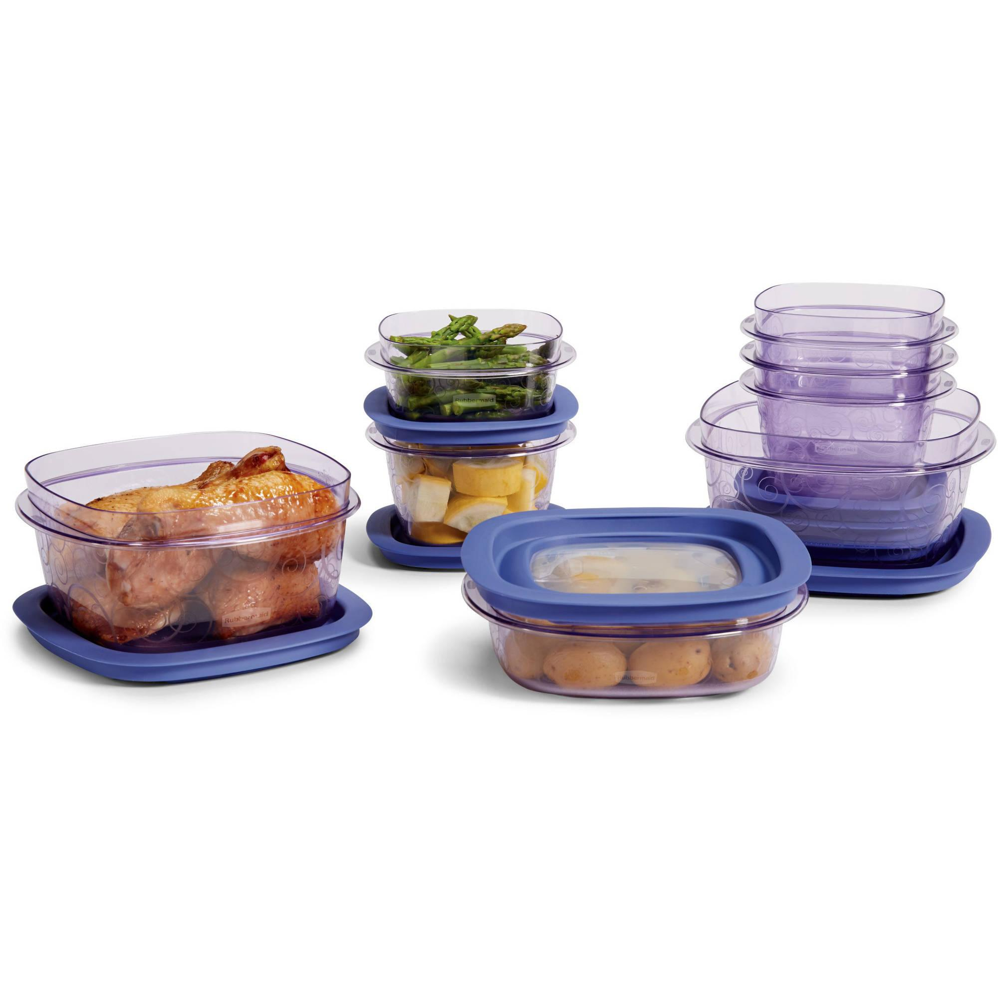 Rubbermaid premier food storage with tritan plastic and for Premier cuisine