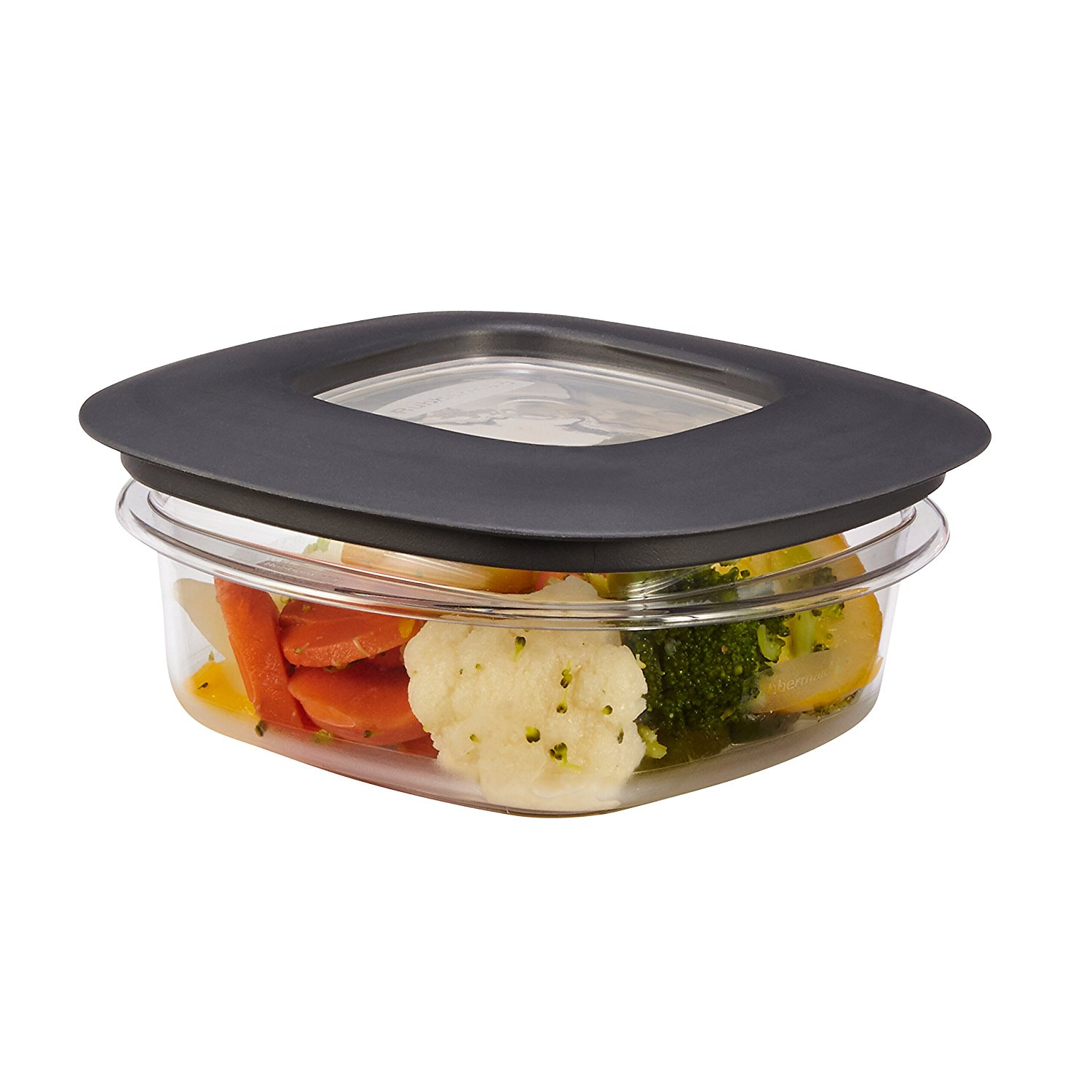 Rubbermaid premier food storage containers grey ebay for Premier cuisine