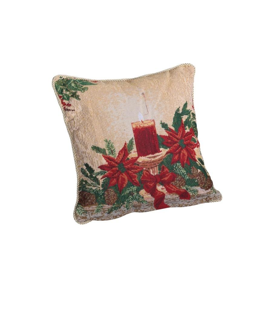 Holiday Seasonal Tapestry Decorative Christmas Cushion Cover 18